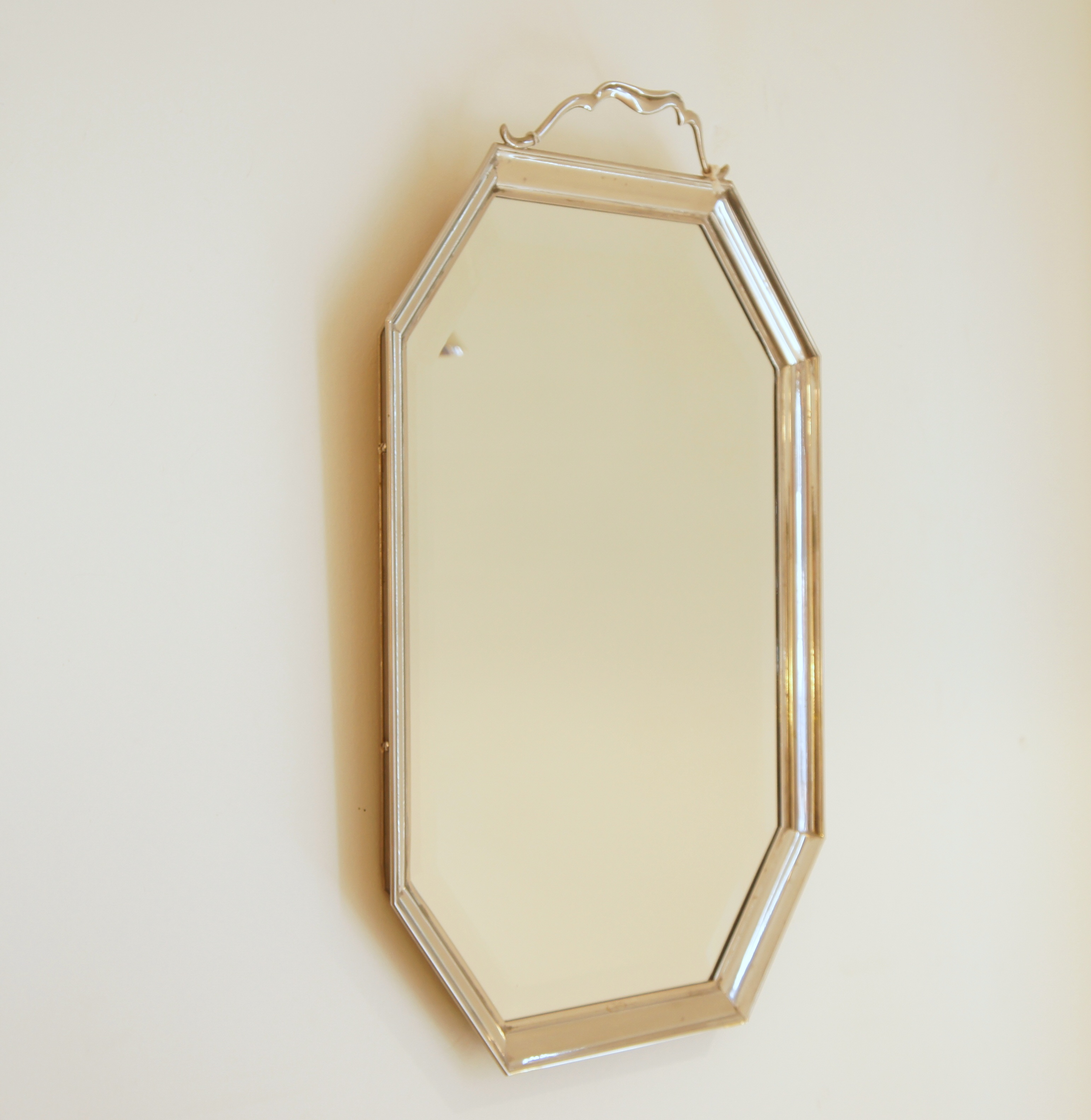 Viennese Silver Wall Mirror Mirrors Objects