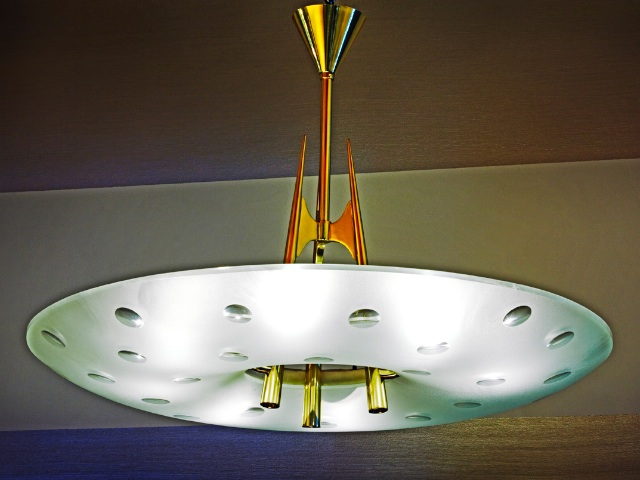 Fontana Arte Celing Lights By Pietro ChiesaCeilingLighting