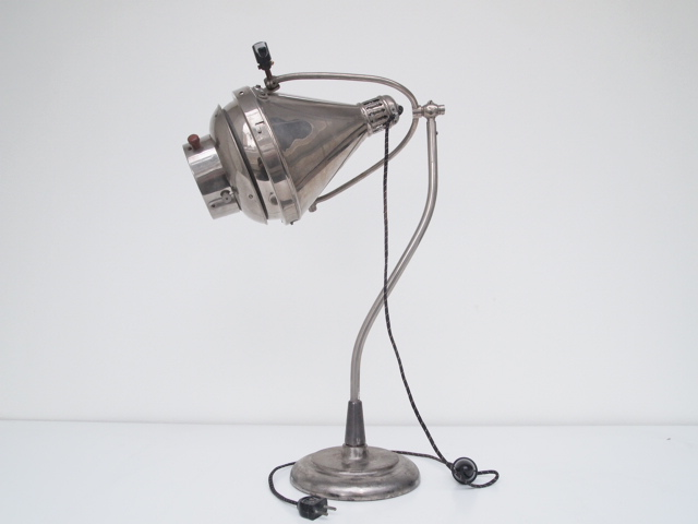 French Industrial LampTableLighting